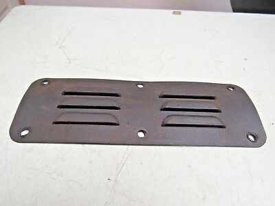 Prototrak K2 Edge Mill Black Vent Belt Access Cover Free Ship