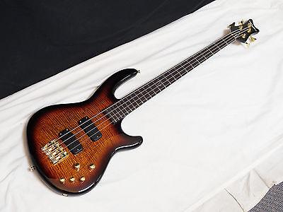 DEAN Edge PRO 4-string BASS guitar NEW Tiger Eye - Active - Neck-through - B Bass Neck Through 4 String