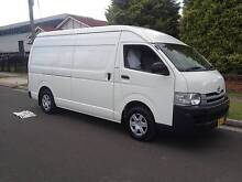 Toyota Hiace SLWB 2008 Manual transmission, Turbo Diesel A/C, P/S Lidcombe Auburn Area Preview