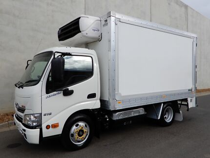 Hino 616 - 300 Series Hybrid  Refrigerated Bell Park Geelong City Preview