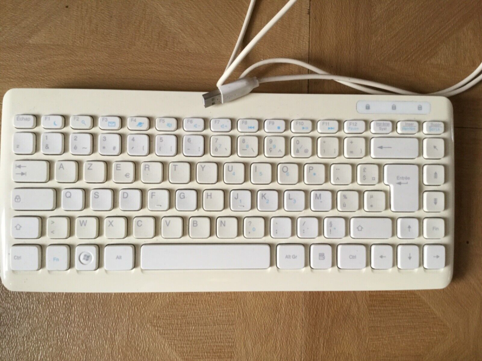 Clavier acer ku-0906 blanc