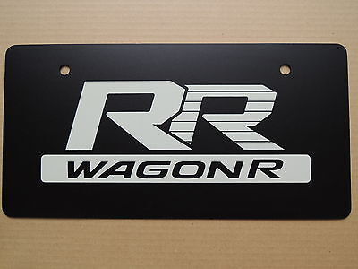 JDM SUZUKI WAGON R RR Original Dealer Showroom Display License Plate Dealership