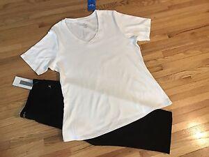 NEW Women's capris size XL & shirt size 1X
