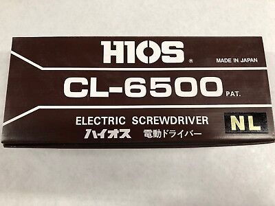 Asg Jergens - Electric Screwdriver - Cl-6500 New In Box