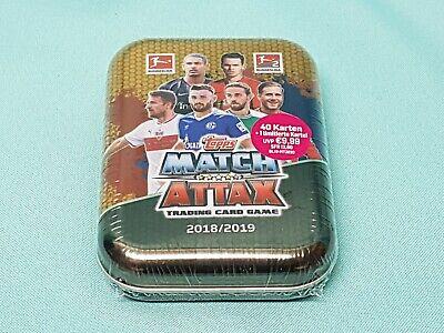 Topps Match Attax 2018/2019 Mini Tin Box + Limitierte Auflage L9 Alario