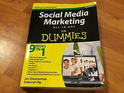 Social Media Marketing All In One For Dummies By Jan Zimmerman And Deborah Ng