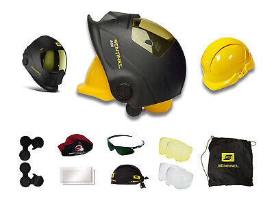 Esab Sentinel A50 Automatic Welding Helmet 0700000800 Hard Hat Bundle
