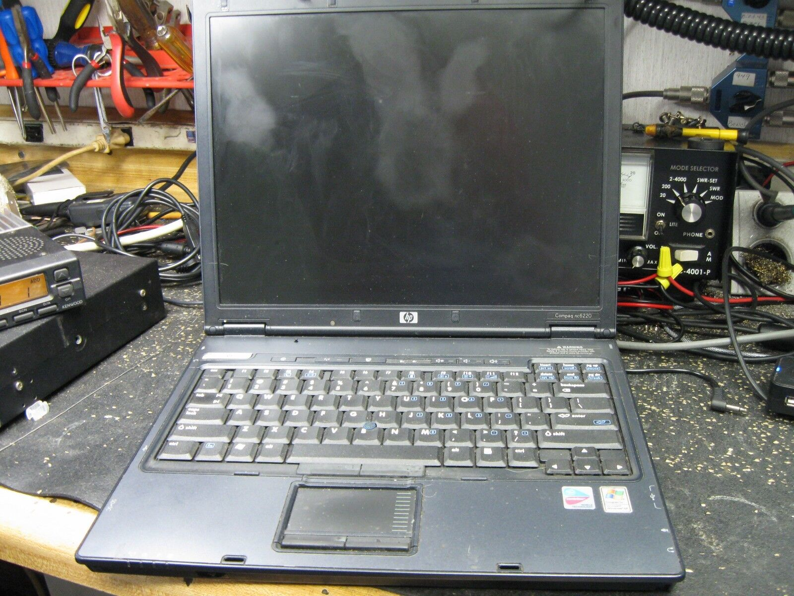 HP COMPAQ NC6220 LAPTOP 1gb ram Laptop For Parts only AS IS