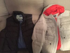 Down vest and jacket