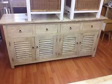 Solid timber rustic hardwood buffet sideboard credenza Manly Manly Area Preview