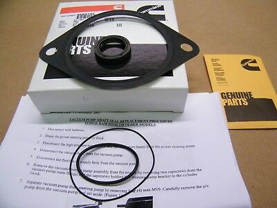Cummins Genuine Vacuum Pump Shaft Seal Kit For 915 02 Dodge Ram 59L 59 Diesel