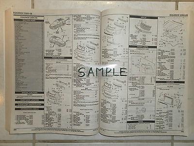 2005 2006 CHEVROLET CORVETTE/Z06 PARTS LIST, used for sale  Vancouver