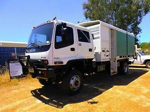 Isuzu FTS 750 4x4 dual cab truck Midvale Mundaring Area Preview