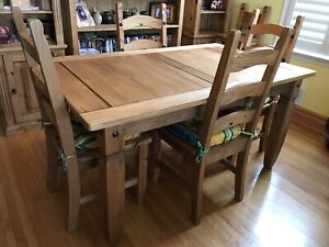 Mexican Pine Dining Table