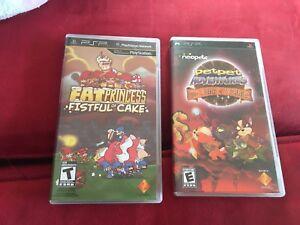 PlayStation PSP and Vita games