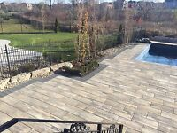 pools spas flagstone design interlocking waterfalls landscaping
