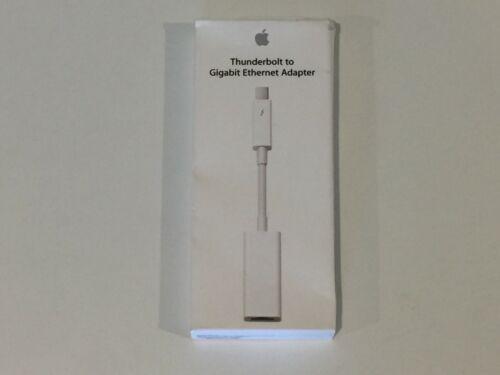 GENUINE Apple Thunderbolt to Gigabit Ethernet Adapter MD463LL/A OPEN BOX