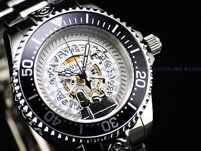 NEW Invicta 47mm Ltd.Ed. SWISS Grand Diver Mirror Polished 300M Skeleton Watch