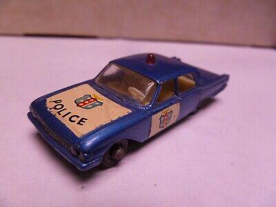 1:87 Scale- Matchbox-No. 55-  Police  Car - NO BOX