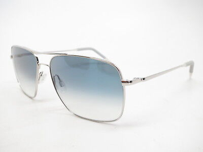 Oliver Peoples OV 1150S Clifton 50363F Silver w/Chrome Sapphire VFX (S Oliver Sunglasses)