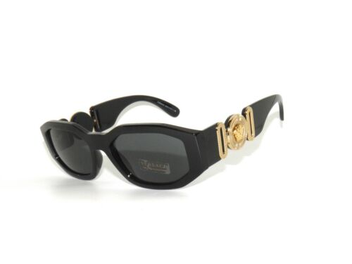 Versace 4361 GB1/87 Black Gold Sunglasses