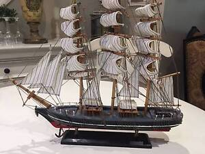 Display Model Wooden Boat Yacht Menai Sutherland Area Preview