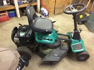 28 inch cut riding lawn mower