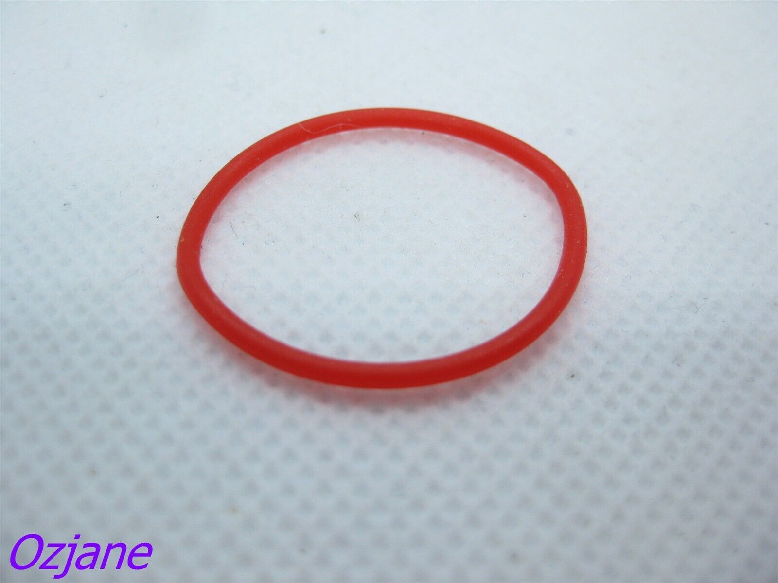 LEGO PART ELASTIC RUBBER BAND BLUE LARGE ROUND CROSS SECT PART NO. X89
