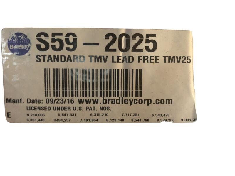 Bradley S59-2025 Navigator Thermostatic Mixing Valve Liquid Thermostat Handwash