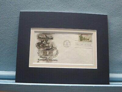 Honoring Korean War Veterans & First Day Cover of the Korean War Veterans Stamp