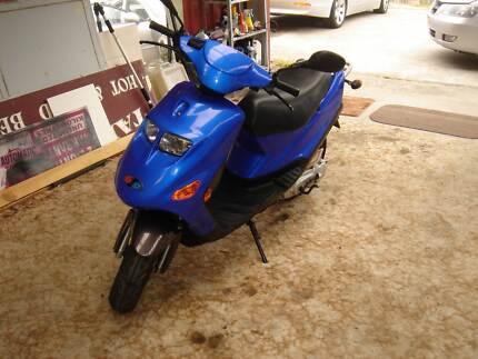 2006 bug (yamaha) motor scooter