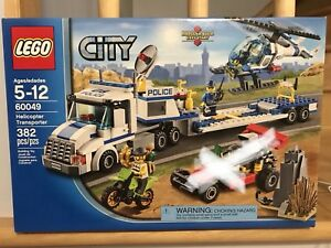 LEGO city Police Helicopter Transporter 60049