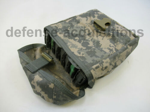 NEW 7 Magazine Pouch Large Utility Pouch ACU MOLLE - FITS 7 MAGAZINES