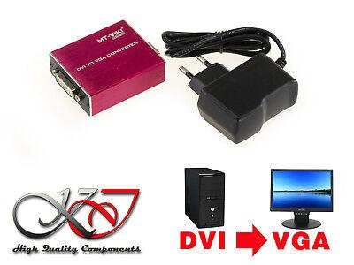 Convertidor DVI A VGA - Gran Resolucion (PC DVI / Pantalla VGA...