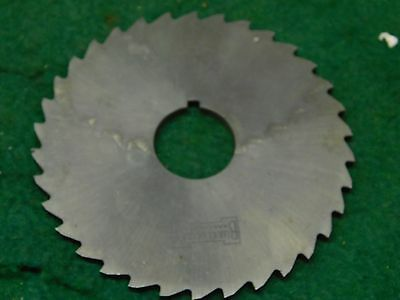 Usa 4.0 X 532 X 1.0 Hss Slitting Saw Slot Milling Cutter
