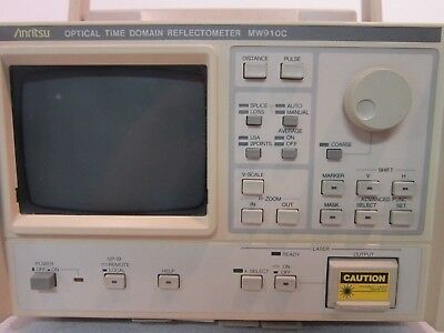 Mw910c Optical Time Domain Reflectometer With Data Cards