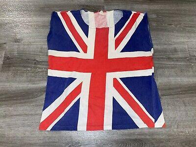80s Tops, Shirts, T-shirts, Blouse   90s T-shirts VTG 1980's Def Leppard Union Jack Shirt Sleeveless USA British  $29.99 AT vintagedancer.com