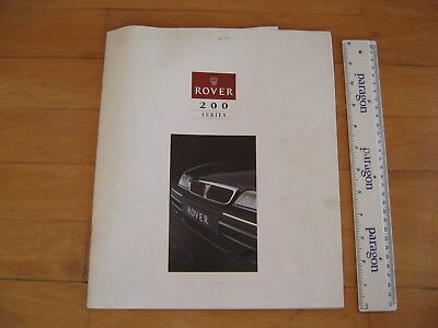 1993 ROVER 200 Colour Brochure,38Large Pages.4525  (New/Unused)