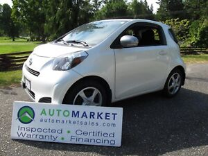 2015 Scion iQ AUTO, A/C, BLUETOOTH, INSP, WARR, FINANCE!