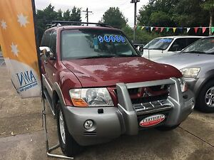 2002 Mitsubishi Pajero 7 seater 3 months registration West Ryde Ryde Area Preview