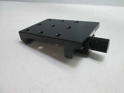 Optosigma Rail Carrier For 50mm Wide Rail 6mm Threaded Holes 3.5 X 2.5