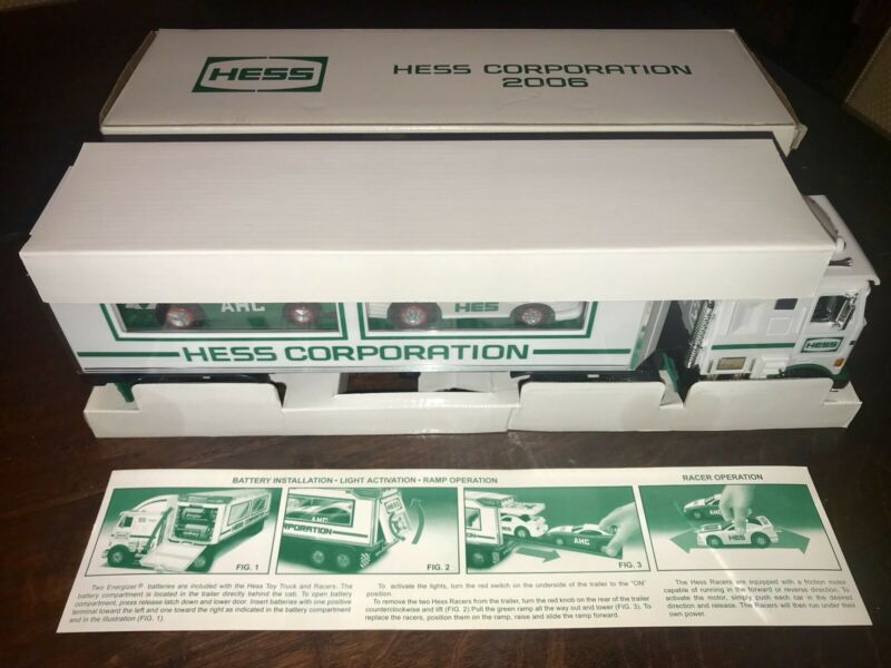 Rare 2006 Hess Corporation NYSE Toy Truck Mint In Original Box w Inserts