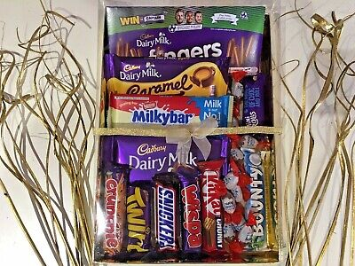 Chocolate Gift Box Birthday Hamper Cadbury Nestle Selection Present
