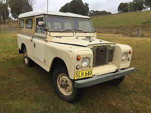 Land Rover Series 2A Niangala Walcha Area Preview