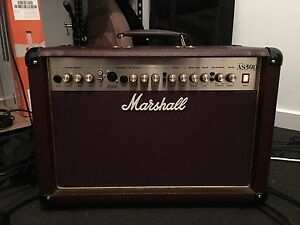 Marshall AS50D Acoustic Amplifier Broadview Port Adelaide Area Preview