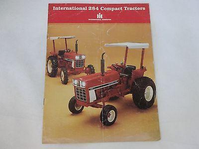 International Harvester Model 284 Compact Tractor Sales Brochure