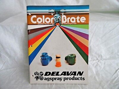 Delavan Agspay Products Parts Book Specializes In Sprayer Accessoriespumps Etc