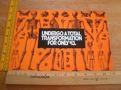 Halloween Costume Factory 1988 Horror pamphlet of open shops (Horror Mask Shop)
