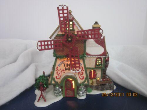 Dept 56 Northern Lights Tinsel Mill 56704 EUC