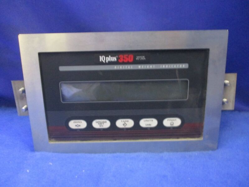 Rice lake Weighing Touch Control Pad IQ+350-IA w/Digital Readout 1 YEAR WARRANTY